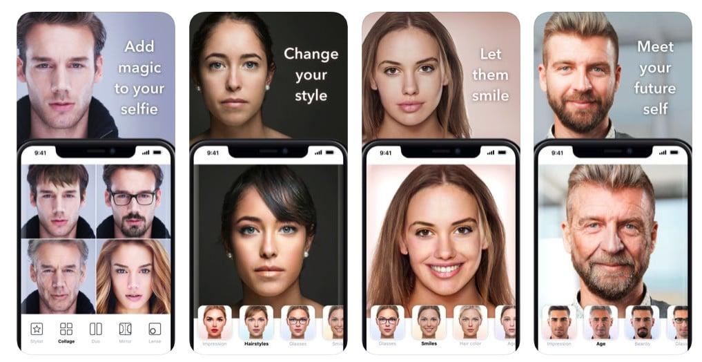 faceapp selfies age comparison security concerns risk